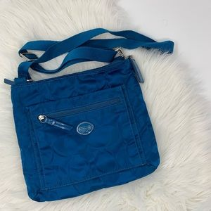 Coach Bags - Teal Blue Coach Messanger Bag